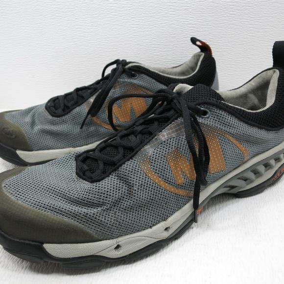 Merrell Other - Helium Ventilator Dark Gray Orange Sneakers